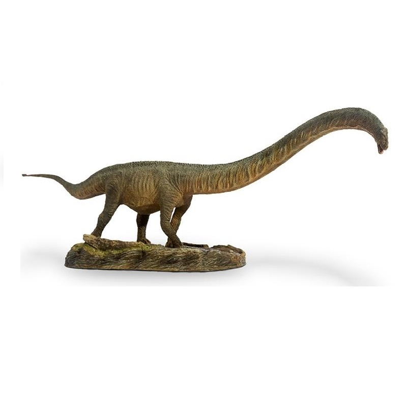 1:35 PNSO Mamenchisaurus With Pedestal Platform Dinosaur Classic Toys For Boys Ancient Animal Model Doll-in Action & Toy Figures from Toys & Hobbies    1