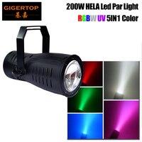 Gigertop Высокая мощность этап 200 Вт Led Spot Par свет хорошее Шайба стены эффект Этап задний план освещение RGBW УФ фиолетовый цвет смешивания