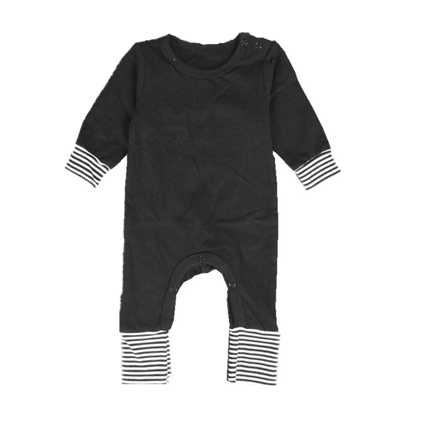 COSPOT Baby Boys Girls Christmas Romper Newborn Autumn Winter Pajamas  Toddler Kids Plain Red Black Cotton Jumpsuit 2019 New 25-in Rompers from  Mother   Kids ... 6110fa8eb