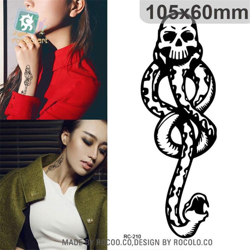 e7ea37be084 ᗖHarajuku водонепроницаемый временные татуировки бумага для женские ...