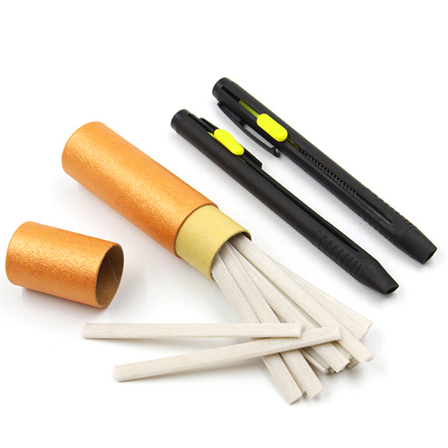 1Set Sewing Chalk Pencils Fabric Marker Tailor's Chalk Disappearing DIY Craft For Clothing Garment Sewing Accessories
