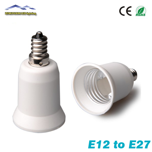 E12 To E26 E27 Socket Light Bulb Lamp Holder Adapter Plug Extender Lampholder