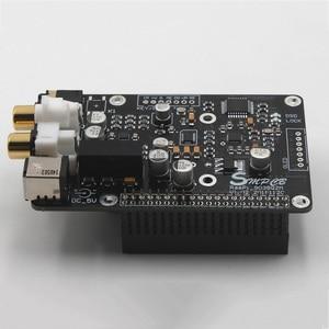 Image 4 - ES9038q2m DAC dekoder dijital yayın kurulu OPA1612 Op ahududu Pi için Decoding I2S 32BIT 384KHZ DSD128