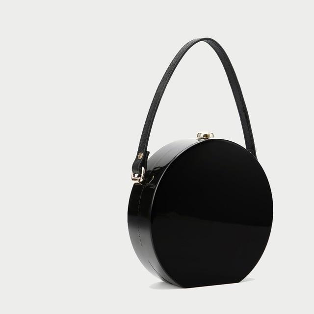 Barrel-Shaped Box Clutch Acrylic Bag 3