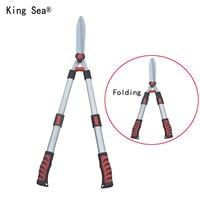 Garden scissor Folding Anvil pruner pruning clipper Grass shear lawn cutter cut clip tool Shrub Orchard snip hedge