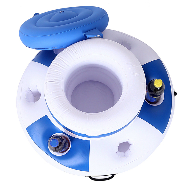 Inflatable Mattress Ice Bucket For Pool