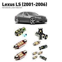 Led interior lights For Lexus Ls 2001-2006  21pc Lights Cars lighting kit automotive bulbs Canbus