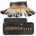 Mejor Venta 24 Cepillos Pinceles de Maquillaje Profesional Kit de Cosméticos de Maquillaje cepillos herramientas de maquillaje herramientas; accesorios