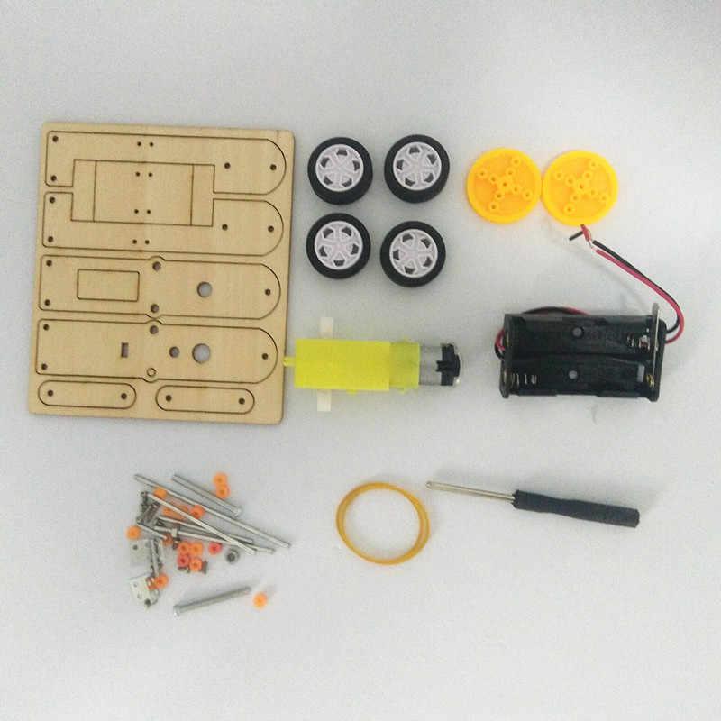 Happyxuan Anak-anak Listrik Pasang Sendiri Proyek Kit Robot Konstruksi Set Worm Ilmu Pendidikan Mainan Stem Anak Laki-laki Hadiah Ulang Tahun