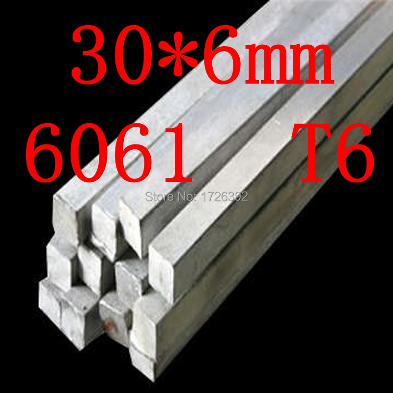 30mm x 6mm Aluminium Flat Bar,30*6mm,width 30mm,thickness 6mm,6061 T6