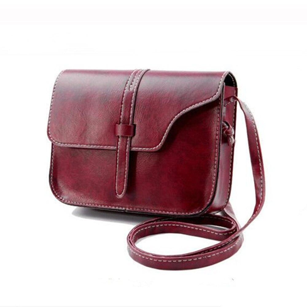 Vintage purse women lady leather shoulder crossbody bags large capacity clutches mini handbag china