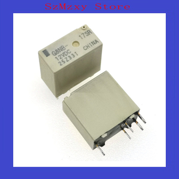 50PCS/Lot Auto Relay  G8NB-17SR 12VDC G8NB 17SR 12V DIP5