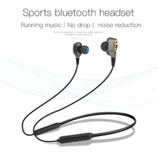 Xingshenglong Double ring pendant Bluetooth headset wireless blue tooth neck motion Bluetooth headset earphone headset mi bluetooth headset basic