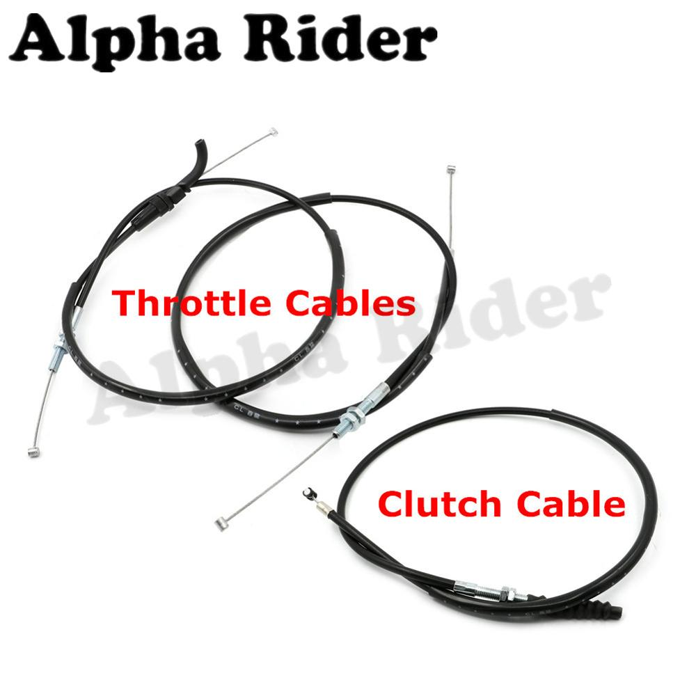 Motorcycle Clutch Cable Rope / Throttle Brake Oil Accelerator Control Wire Line for Kawasaki Ninja 250 R EX250 08-12 11 10 09 motorcycle clutch cable rope throttle brake oil accelerator control wire line for kawasaki ninja 250 r ex250 08 12 11 10 09