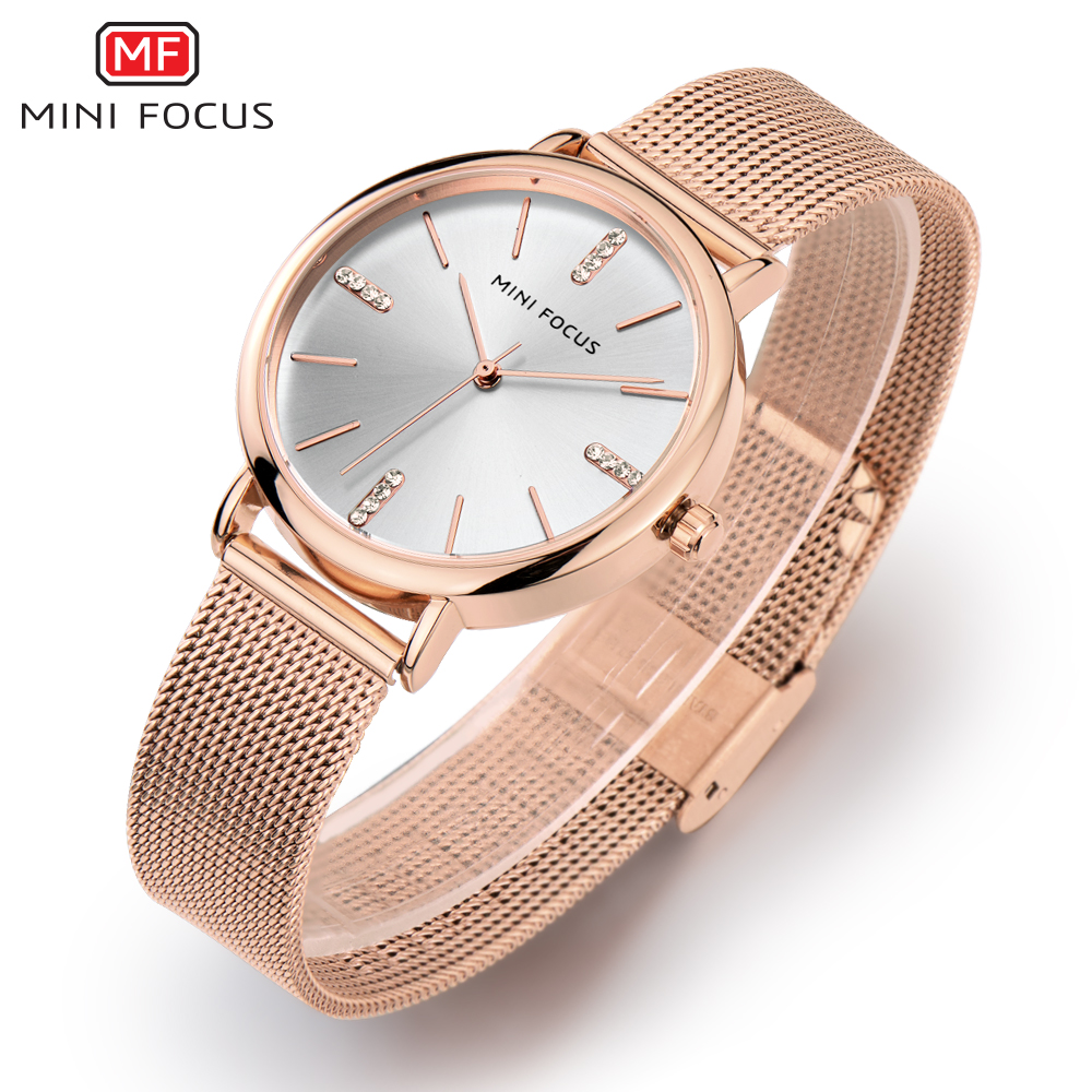 MINI FOCUS Fashion Quartz Watch Women Watches Ladies Girls Famous Brand Wrist Watch Female Clock Montre Femme Relogio MF0036L.04 4x 1kg bag refill laser copier color toner powder kit kits for ricoh aficio mp c2530 c2051 c2551 mpc 2030 2010 2050 2550 printer