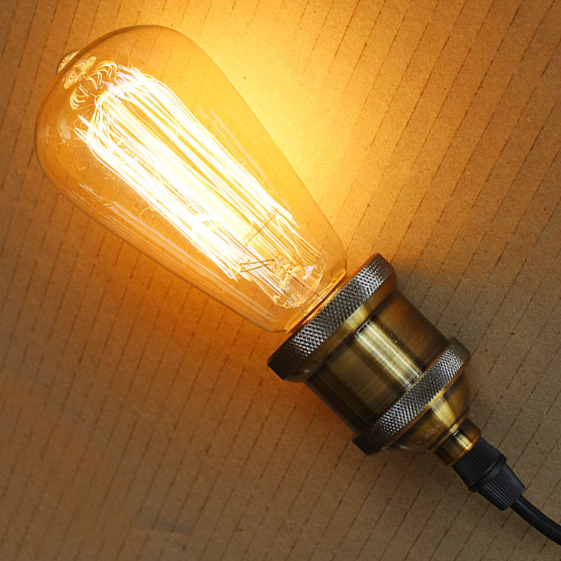 Retro Edison Bulbs E27 220V Incandescent Bulbs 25W 40W 60W ST64 Filament Bulb Vintage Edison Light For Pendant Lamp Warm White