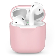 For Apple Airpods Case TPU Shockproof Silicone Earphone Protective Skin Headset Cover for Air Pods Charge Box Accessories Cases недорого