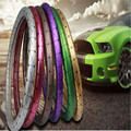 High Quality Female Women Colorful Laser Grips Beautiful Rainbow Anti-slip Auto Car Steering Wheel Cover Best Lady Gift lzh