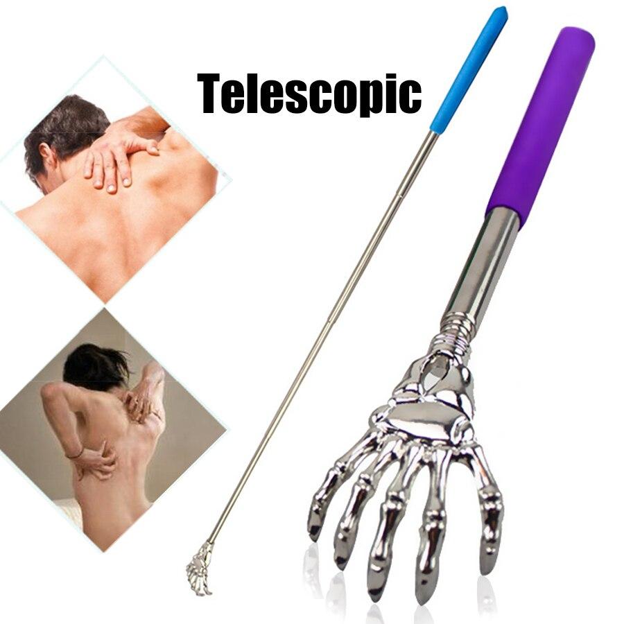 1 Pcs Back Scratcher Telescopic Scratching Backscratcher Massager Kit Back Scraper Extendable Telescoping Itch Health Products
