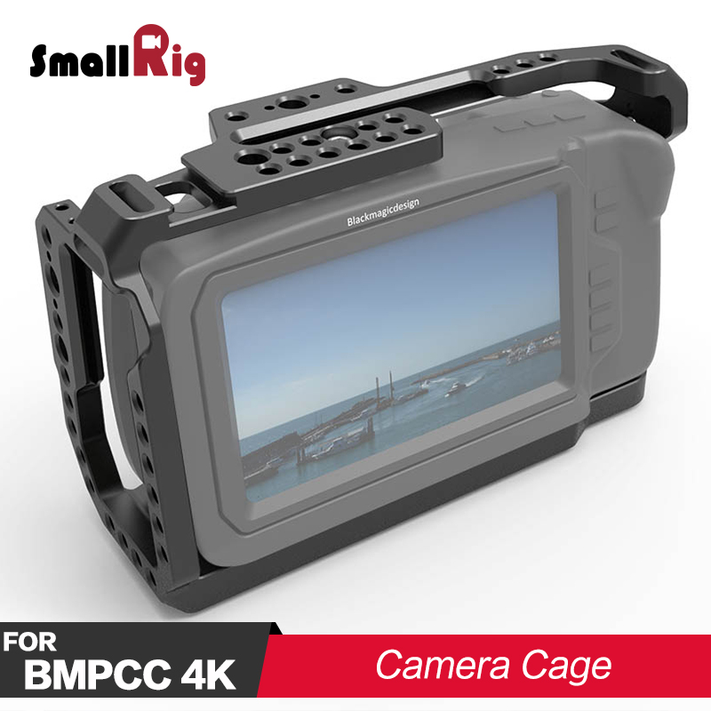 SmallRig DSLR Camera Cage for Blackmagic Design Pocket Cinema Camera 4K BMPCC 4K Cage Rig 2203
