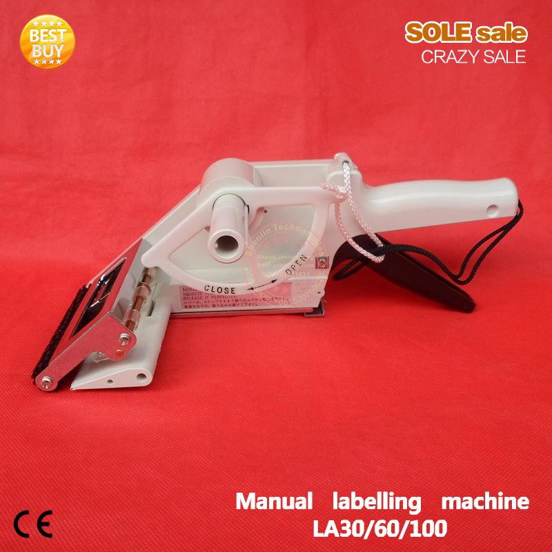 Labelling tools manual bottle labels sticking machine paper label applicator handheld packging tools equipment ts511a counter top handheld needle meat tenderizer machine tools of manual type
