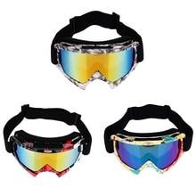 Professional Motorcycle Skiing Eyewear Adult Motocross Goggles Dirt Bike ATV Motorcycle Ski Glasses Free Size