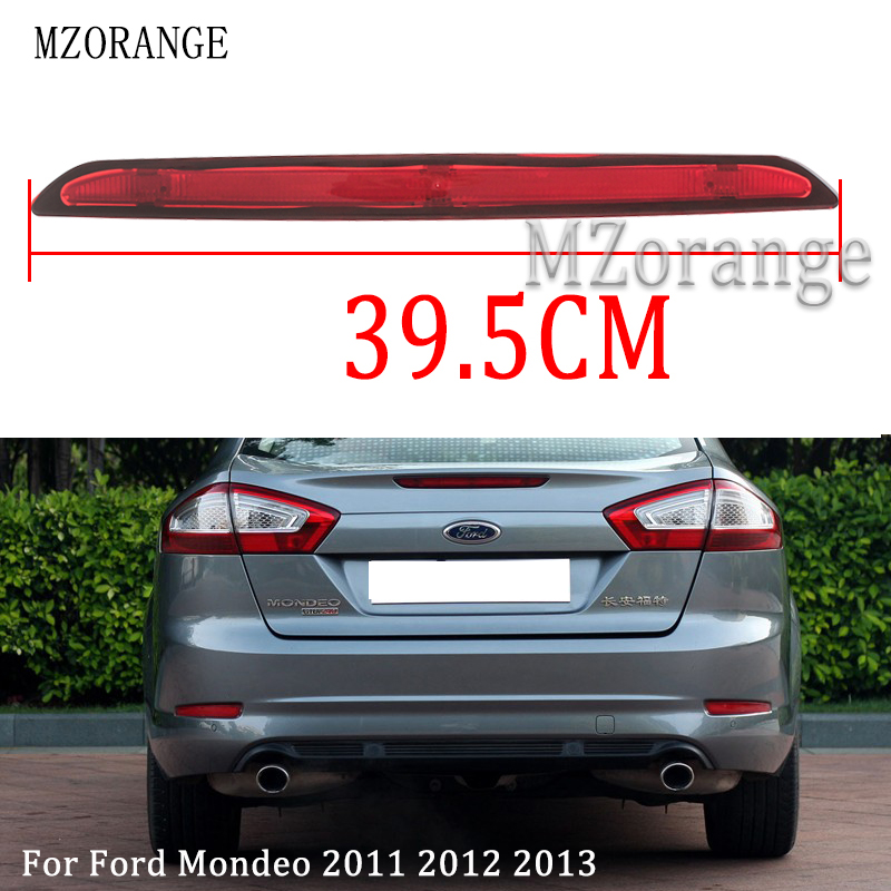 MZORANGE For Ford Mondeo 2011 2012 2013 Rear High Mount Positioned Brake Light Additional Stop Lamp Center Stop Light