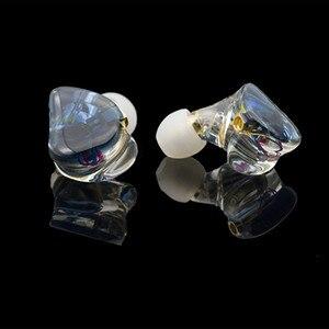 Image 3 - A3 HIFI 1BA+1DD Hybrid Earphone MMCX 2PIN Powerful Stereo Hi Res Earbud Resin Custom Made Headphone DJ Monitor Stage Headset IEM