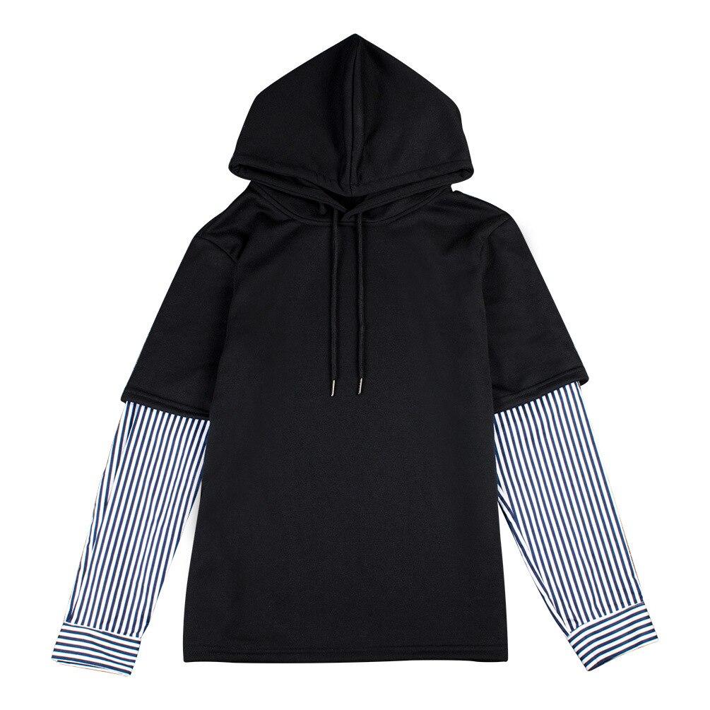 new kpop Bangtan Boys suga 2019 The New Same paragraph Hooded Fake two-piece Hooded shirt Should aid clothes Hoodie korean bts v warriors jacket