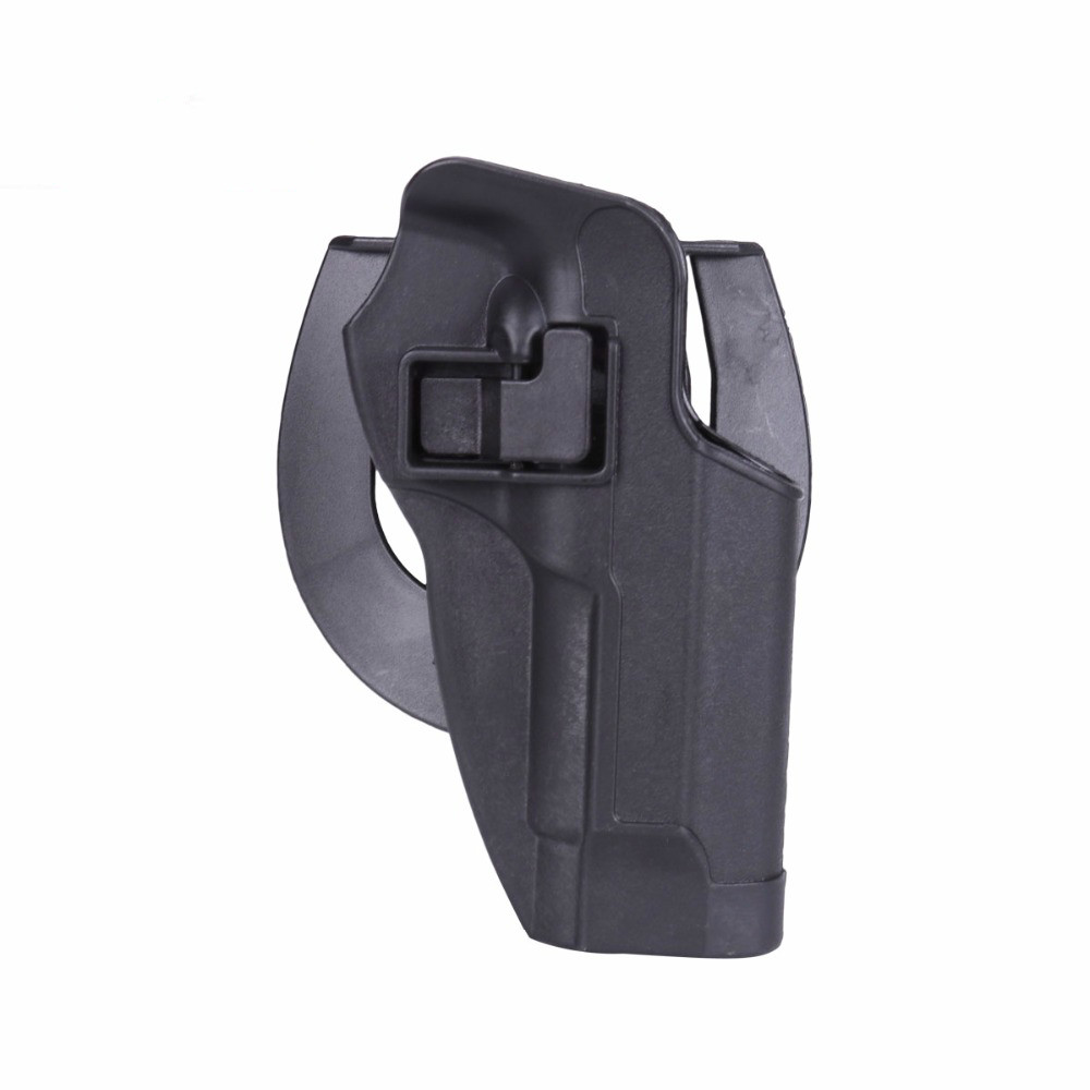 Image 4 - 2017 New Arrival CQC M92 1set pistol gun Holster Polymer ABS Plastic waist belt gun holster fit Airsoft right hand-in Hunting Gun Accessories from Sports & Entertainment