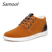 Men Boots Men Shoes Casual Lace Up Ankle Boots Western Winter Fashion British Dress Boots Outdoor