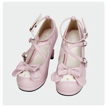 Cute Lolita Rabbit Cross Strap Shoes