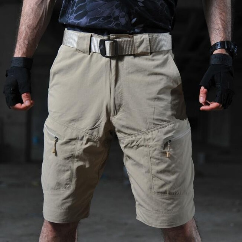 High Quality Mens Tactical Shorts Waterproof Quick Dry Climbing Trousers Summer Army Military Homme Shorts For Fishing Tourism
