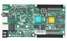 Huidu HD-C10 Asynchronicznym Pełnym Kolorze DOPROWADZIŁY Karty + 1 sztuk HUB75 Pokładzie, DOPROWADZIŁY Wyświetlania Wideo Karty Z Skali Szarości, wsparcie 384×320 dot