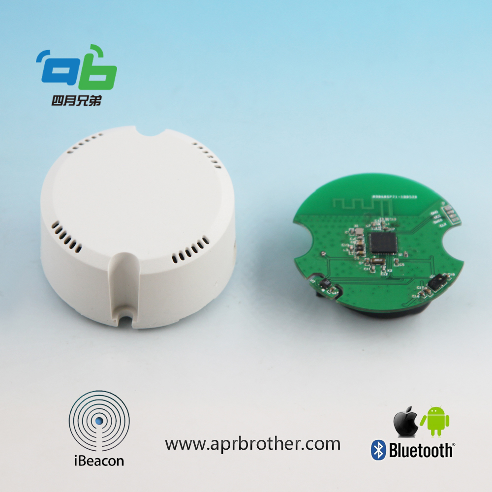 Bluetooth 4.2  NRF52832 Eddystone And IBeacon Temperature Sensor