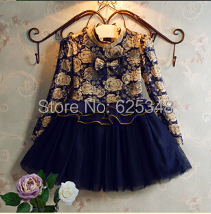 2017 Children Toddler dress  brand floral baby girls dress christmas dress  top  designer kids clothes Ball Gown with Sparkling in Dresses from Mother    Kids. 2017 Children Toddler dress  brand floral baby girls dress