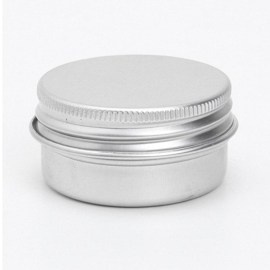 HHFF 50 x Vacuum cosmetic container Container Jar of aluminum lip cream 50 ml screw capHHFF 50 x Vacuum cosmetic container Container Jar of aluminum lip cream 50 ml screw cap