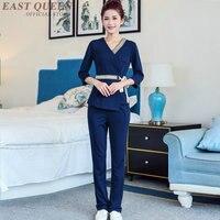 Massage uniform thai beauty salon beautiful uniforms clothing waitress clinical nurse scrubs uniform designs KK2028 H