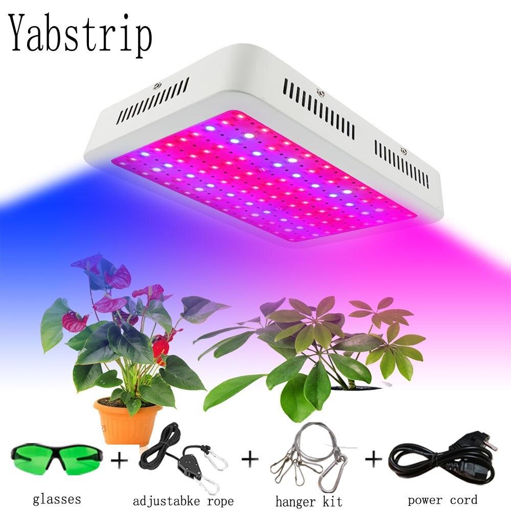 Yabstrip LED Grow Light Full Spectrum 600W 1000W 2000W For Flowers Vegetables Seeding Greenhouse Grow Tent Plants Grow Led Lamp