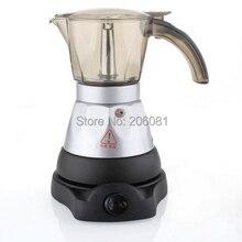 Электрическая Кофеварка Mocha. Горячая Распродажа, Кофеварка mocha, емкость 3 чашки, 220 В, высокое качество, Прямая с фабрики