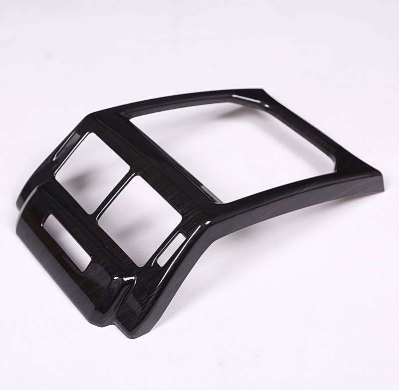 For Land Rover Range Rover Evoque 14-17 Car Interior Accessories Rear Air Conditioning Vent Cover Frame Trim Stickers