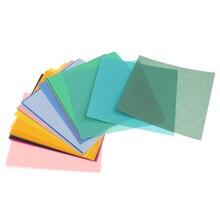 50 листов 50 цветов Набор одностороннее складное оригами бумаги для рукоделия
