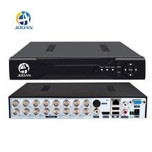 DVR 16CH 8CH 4CH CCTV Video Recorder For CVBS AHD Camera Ana