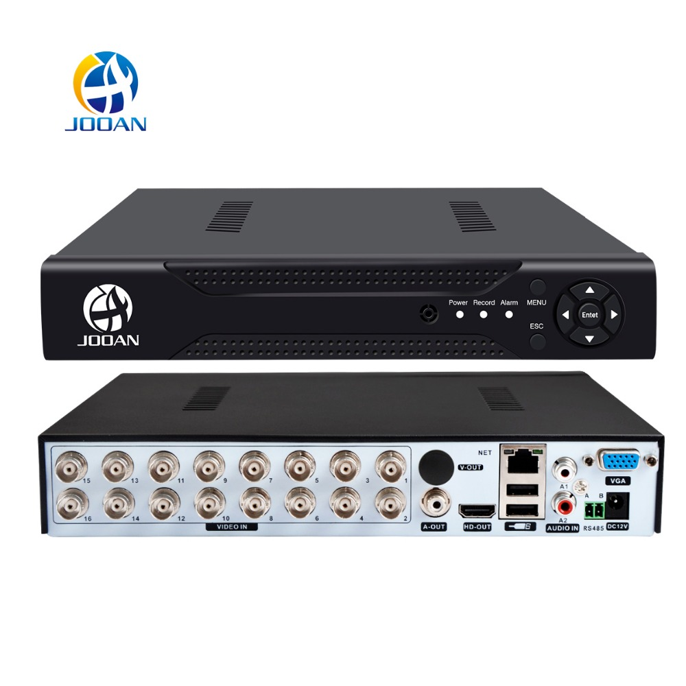 JOOAN 4CH 8CH 16CH DVR CCTV Video Recorder Für AHD Kamera Analog Kamera IP Kamera Onvif P2P 1080 Video Überwachung DVR Recorder