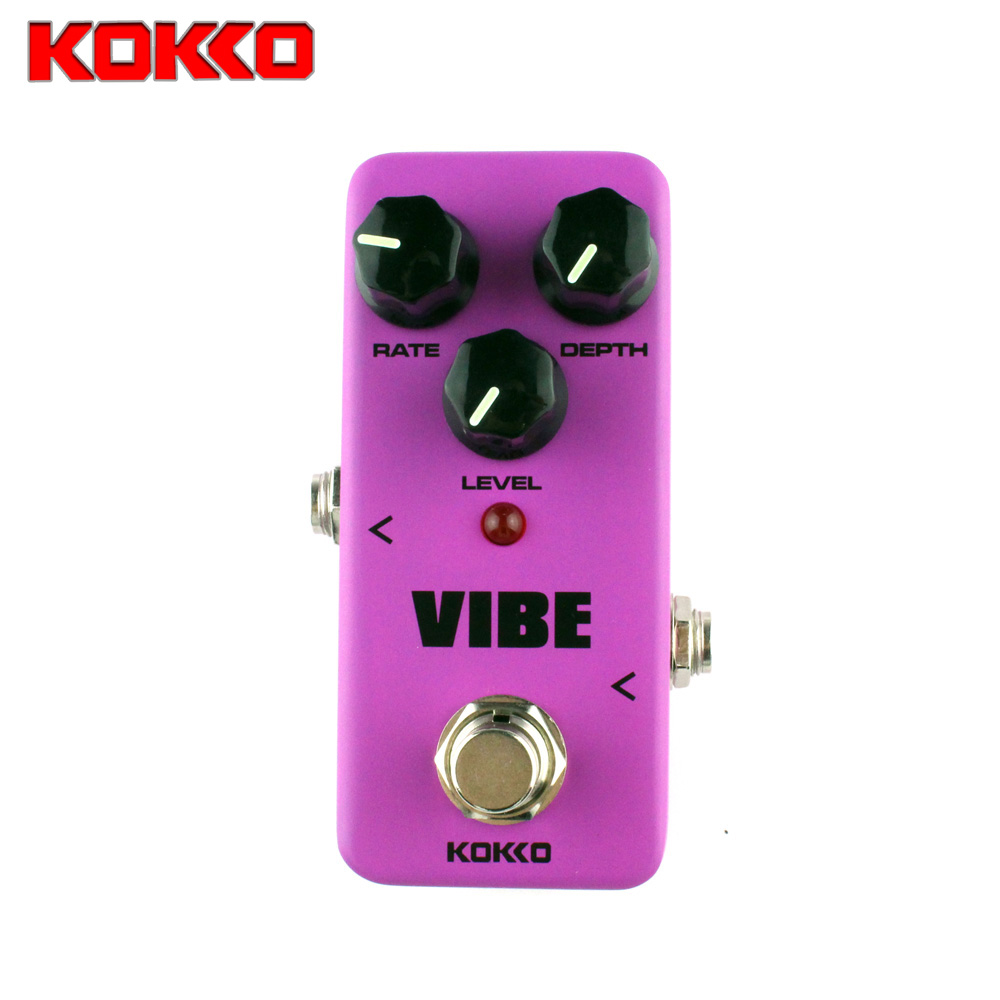 KOKKO  vibe Rotary speaker simulator guitar effect Pedal Rotary speaker guitar effects true bypass Guitar Parts & Accessories mooer ensemble queen bass chorus effect pedal mini guitar effects true bypass with free connector and footswitch topper