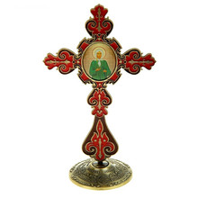 "features <font><b>furniture</b></font> souvenirs. Christmas gift.Holy gift to Devout disciple.The cross and props icon ""happiness Xenia Petersburg"