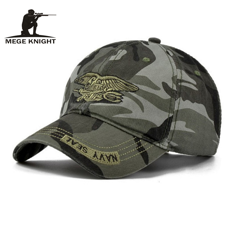 MEGE Summer Fashion Camcouflage Baseball cap Unisex font b Tactical b font Casual Hip Hop hats