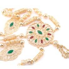 New fashion Moroccan wedding dress chest for women's custom shoulder accessories luxury eth