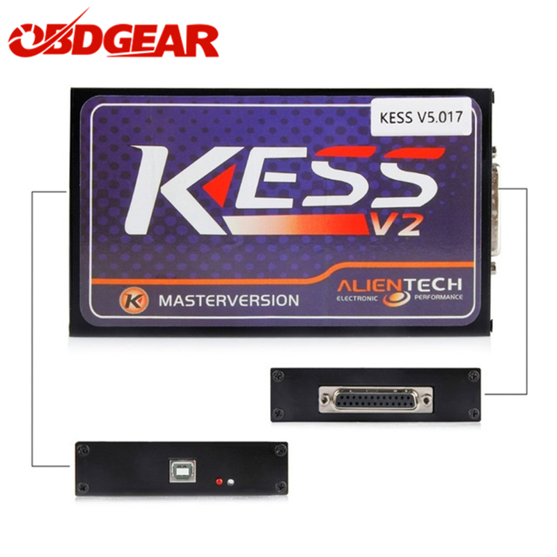 New KESS V2 V5.017 Version ECU Chip Tuning Tool ODB2 KESS V2 OBD2 Manager Tuning Kit Support Cars Trucks Boat ECU Kess V2 V5.017