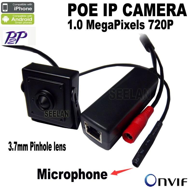 720P mini poe ip camera mini Microphone onvif p2p mini ip camera POE surveillance With external POE Power Over Ethernet 1080p hd poe mini ip camera miniature poe camera audio ip network camera onvif p2p wide angle power over ethernet ipc web cam